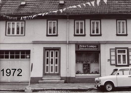 Geschäft zu DDR Zeit 1972